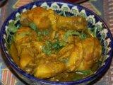 Фото готового блюда: Индийская курица карри