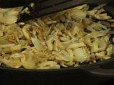 Обжарка гриб с луком