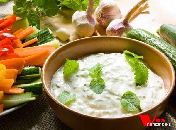 Греческий чесночный соус
