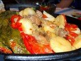 Фото готового блюда: Мясо под листьями