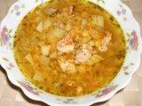 Фото готового блюда: Гороховый суп в мультиварке