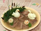 Фото готового блюда: Заливной язык