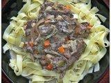 Фото готового блюда: Говядина с грибами