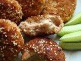 Фото готового блюда: Котлеты из креветок и лосося