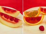 Приготовленные фруктовые десерты