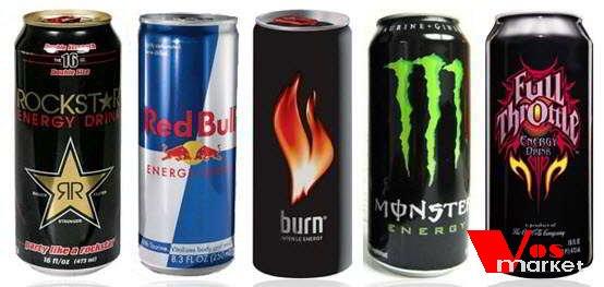 Банки энергетических напитков
