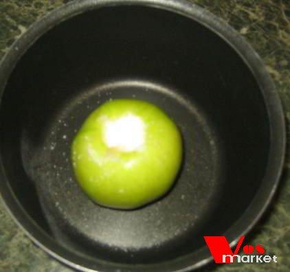 Подготовленное яблоко