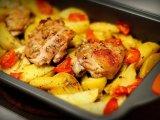 Фото готового блюда: Курица в кефире