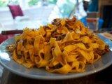 Фото готового блюда: Макароны Тальятелле