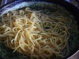 Готовые спагетти