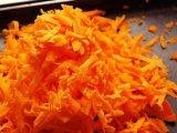 Натертый морковь