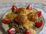 Фото готового блюда: Мясные ёжики