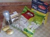 Ингредиенты для второго блюда