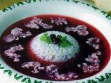 Фото готового блюда: Суп из черники