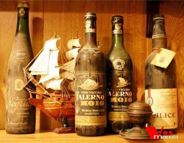 Бутылки известных вин
