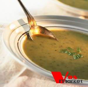 Суп с зеленой фасолью