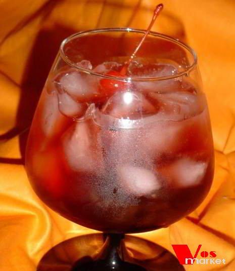 Домашний коктейль: Красный закат