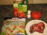 Продукты для приготовления супа
