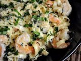 Фото готового блюда: Паста с креветками