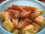 Приправленная картошк