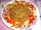 Фото готового блюда: Гречка с мясом