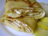 Главное фото рецепта Блинчики с яблоками