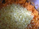 Пшеничные хлопья в смеси с морковью