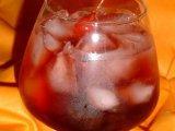 Фото готового блюда: Красный закат коктейль