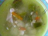 Главное фото рецепта Куриный суп с лобио