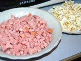 Сыр и колбаса для запеканки