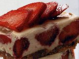Главное фото рецепта Шоколадный чизкейк с клубникой