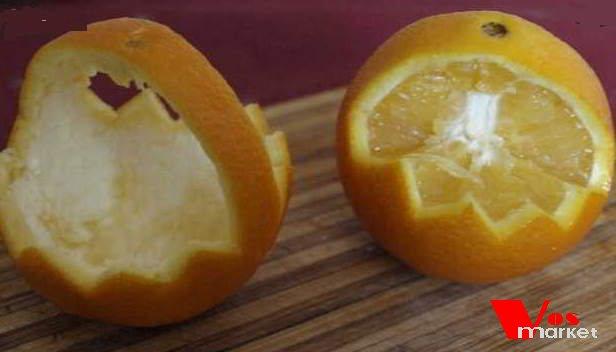 Корзины из апельсин