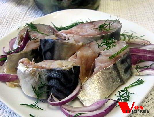 Фото готового блюда: Посол скумбрии