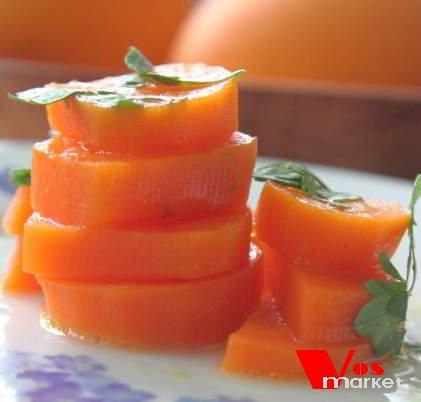 Готовая холодная закуска из моркови