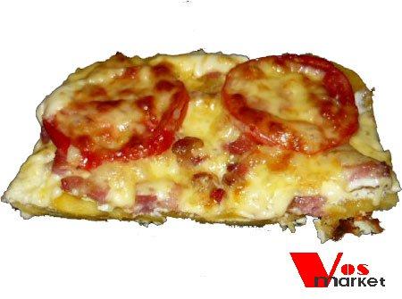 Порция картофельной пиццы