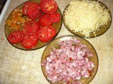 Ингредиенты для начинки картофельной пиццы