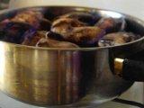 Фото приготовления Петух в вине по-французски