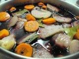 Фото к блюде Петух в вине по-французски