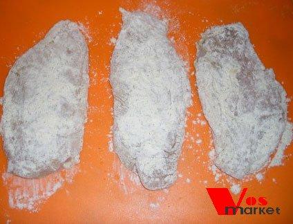 Отбитые куриные грудки в сухом маринаде