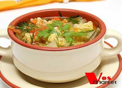 Готовый финский овощной суп
