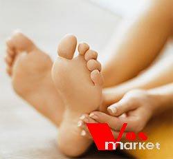Здоровые пятки и ступни ног
