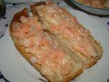 Фото готового блюда: Бутерброды с семгой