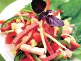 Фото готового блюда: Салат с мясом и овощами