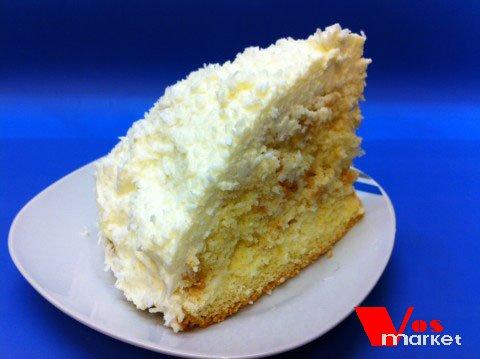 Кусочек торта Рафаелло