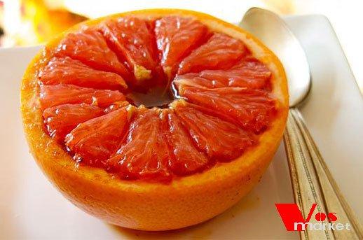 Сладкий грейпфрут из духовки