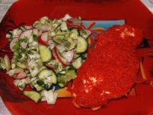 Фото готового блюда: Грудка в духовке с соусом