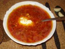 Фото готового блюда: Борщ овощной