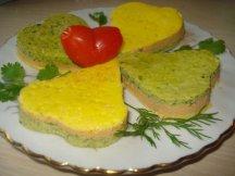 Главное фото рецепта Трехслойный омлет в духовке