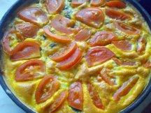 Главное фото рецепта Омлет с овощами в духовке