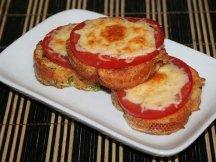 Главное фото рецепта Гренки с сыром и помидорами